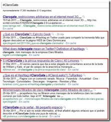 ClaroGate-en-Google