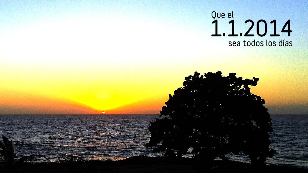 Que el 1.1.2014 sea todos los días